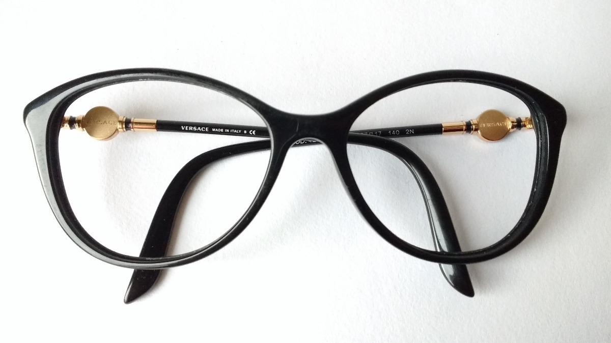 1ec4925308 lentes ópticos versace 4251 cats wayfarer black gold italy m. Cargando zoom.