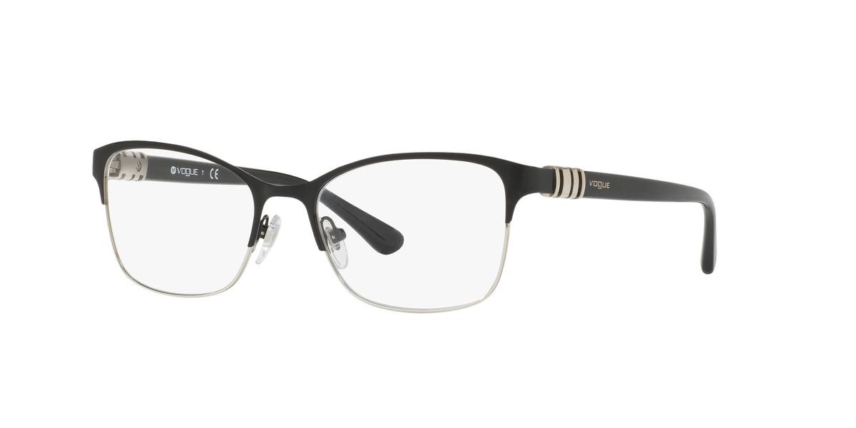 cafe3ecce5 Lentes Ópticos Vogue Vo4050 Black/silver   Chilelentes - $ 74.900 en ...