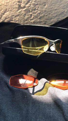lentes originales oakley modelo half wire pulidos