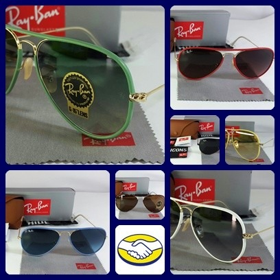 lentes ray ban full color