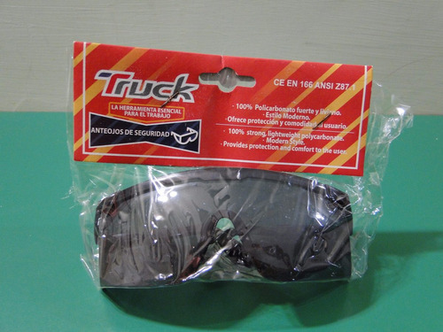 lentes oscuros de seguridad marca truck