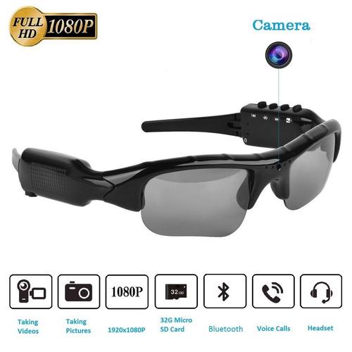 lentes oscuros espías hd (640 x 480) - cámara oculta