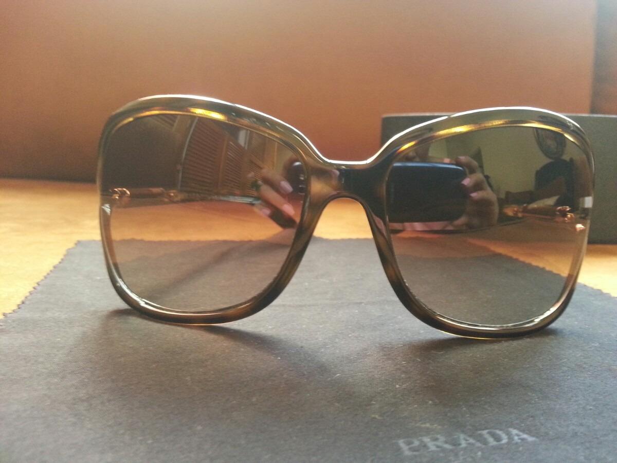 e706f4776f Lentes Oscuros Gafas Mujer Prada Original - $ 3,400.00 en Mercado Libre
