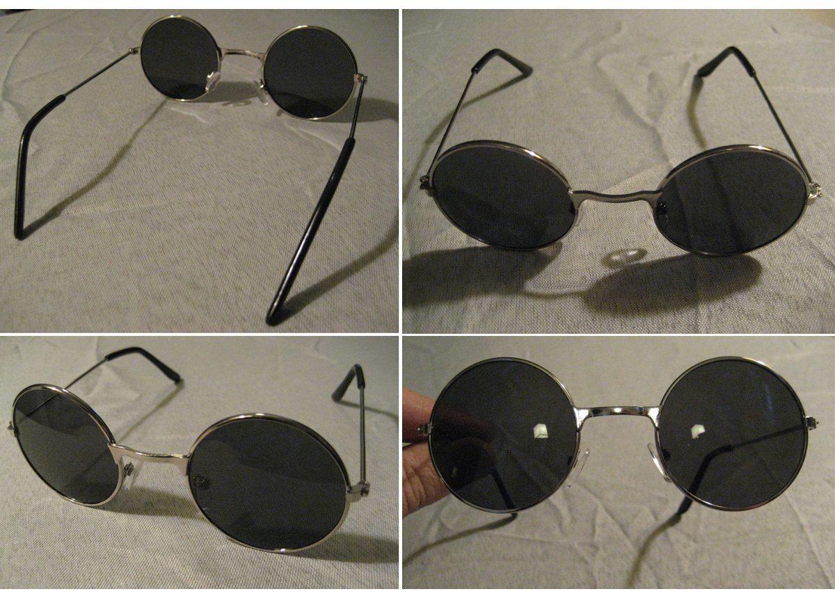 Lentes Oscuros Tipo John Lennon, Para Sol, Anteojos, Beatles - $ 670 ...