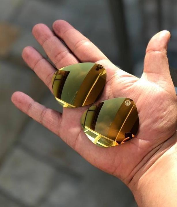 e8d245e8dd Lentes P Oakley Enduro Dourada 24k Iridium Shaun White - R$ 280,00 ...
