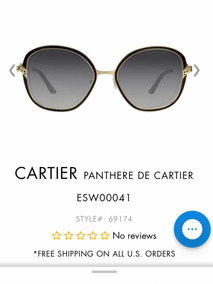 ahorrar b835f d5e2b Lentes Panthere De Cartier Originales Nuevos