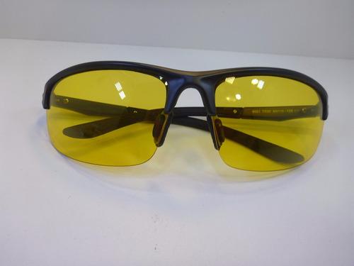 lentes para manejar de noche mica amarillo armazón negro