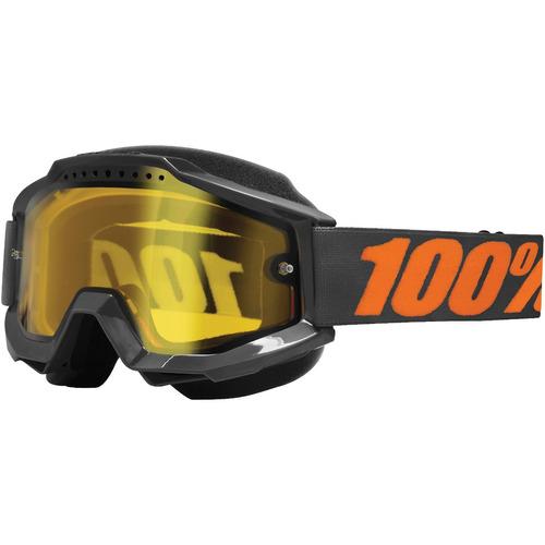 lentes para nieve 100% accuri gris