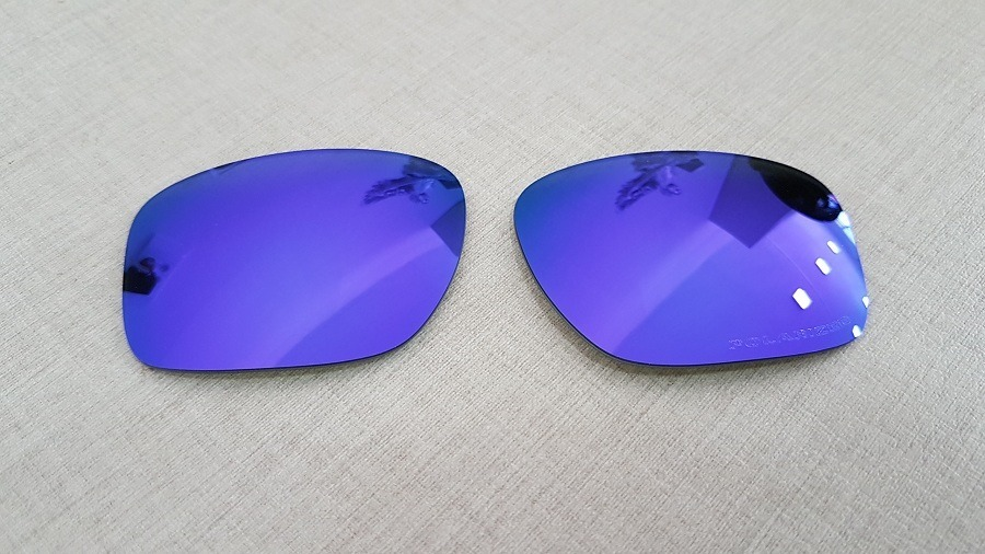 f83f3fa3ea lentes para oakley sliver oo9262 violet iridium polarizada. Carregando zoom.