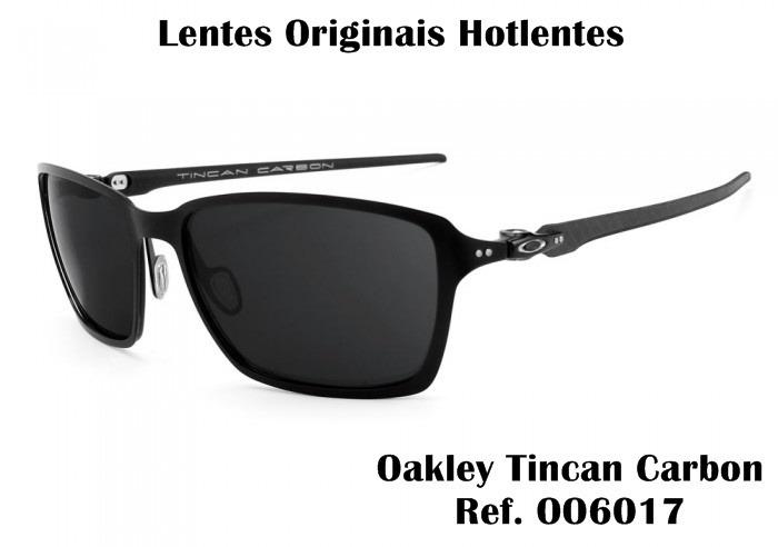 88dd314145 Lentes Para Oakley Tincan Carbon Oo6017 Temos Tds Cores - R$ 99,00 ...