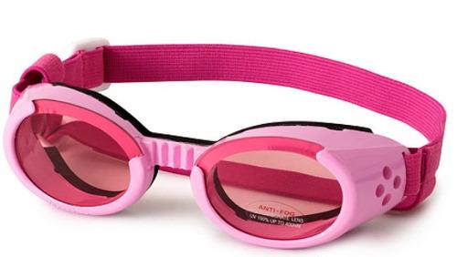 lentes para perros doggles  ils originales, rosa y plata !!