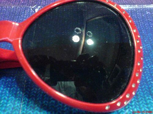 lentes para sol  años 70  con formato grande