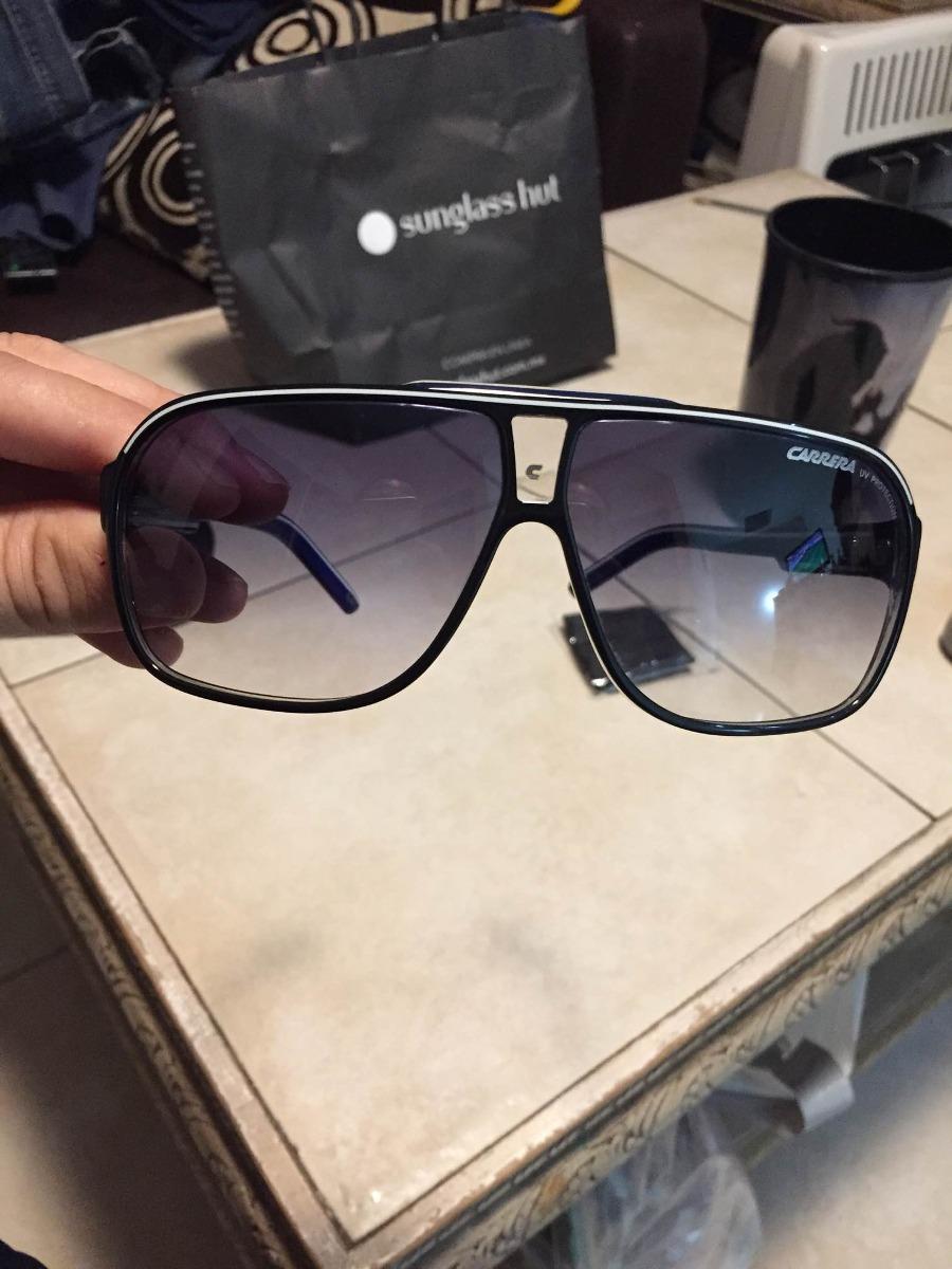 b4f8c7338b lentes para sol carrera grand prix 2, azules nuevos, hombre. Cargando zoom.