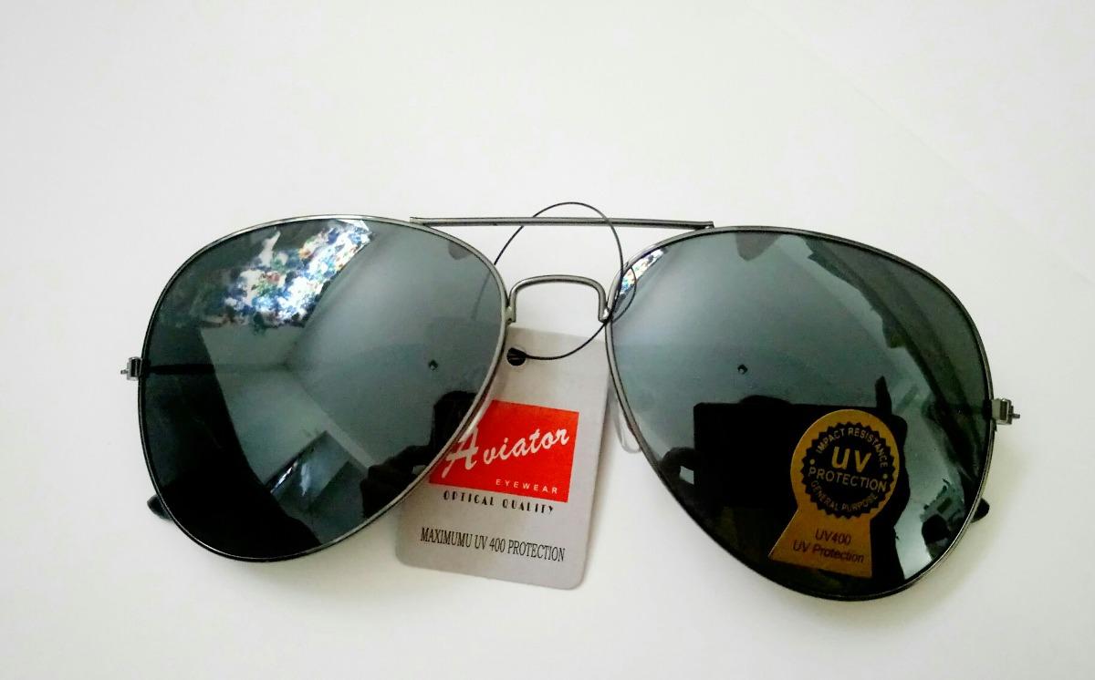 5ed1ad1f4f lentes para sol estilo aviador gota mediana negrio envíos!!! Cargando zoom.