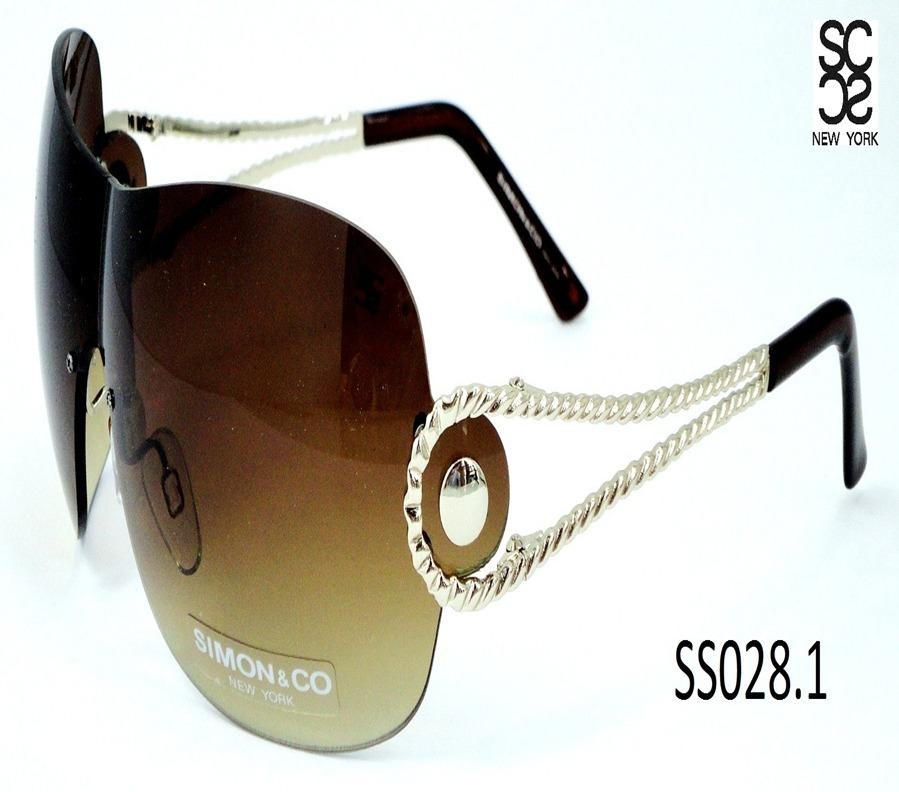 f51a1bde83 Lentes Para Sol Marca Simon & Co Para Dama Sin Armazon - $ 495.00 en ...