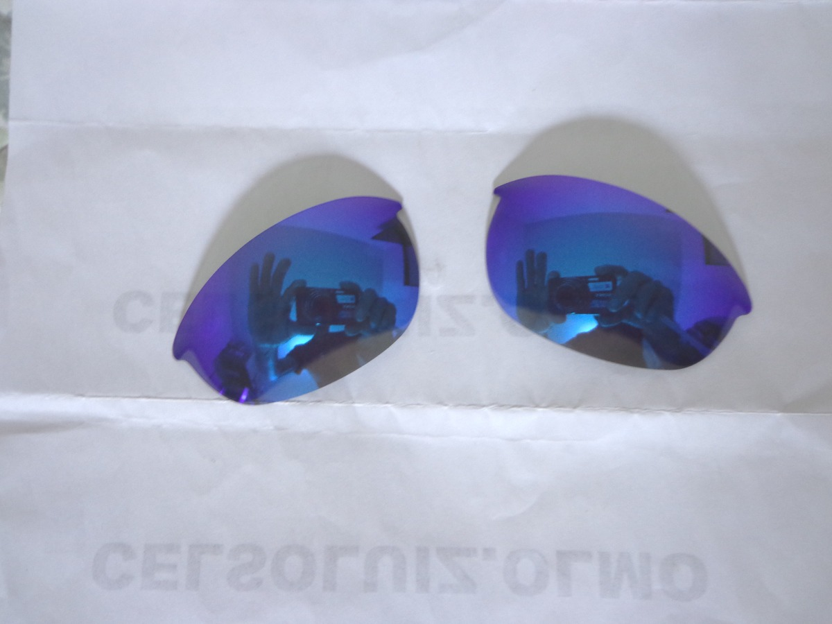 lentes polarizadas custon óculos half jacket1.0+cartão teste. Carregando  zoom. 9cb9dfbd20