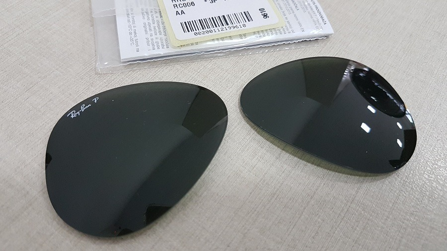 0243ebbbf51fb Lentes Polarizadas Ray-ban Aviador Rb4180 Tamanho 58 - R  179,00 em ...