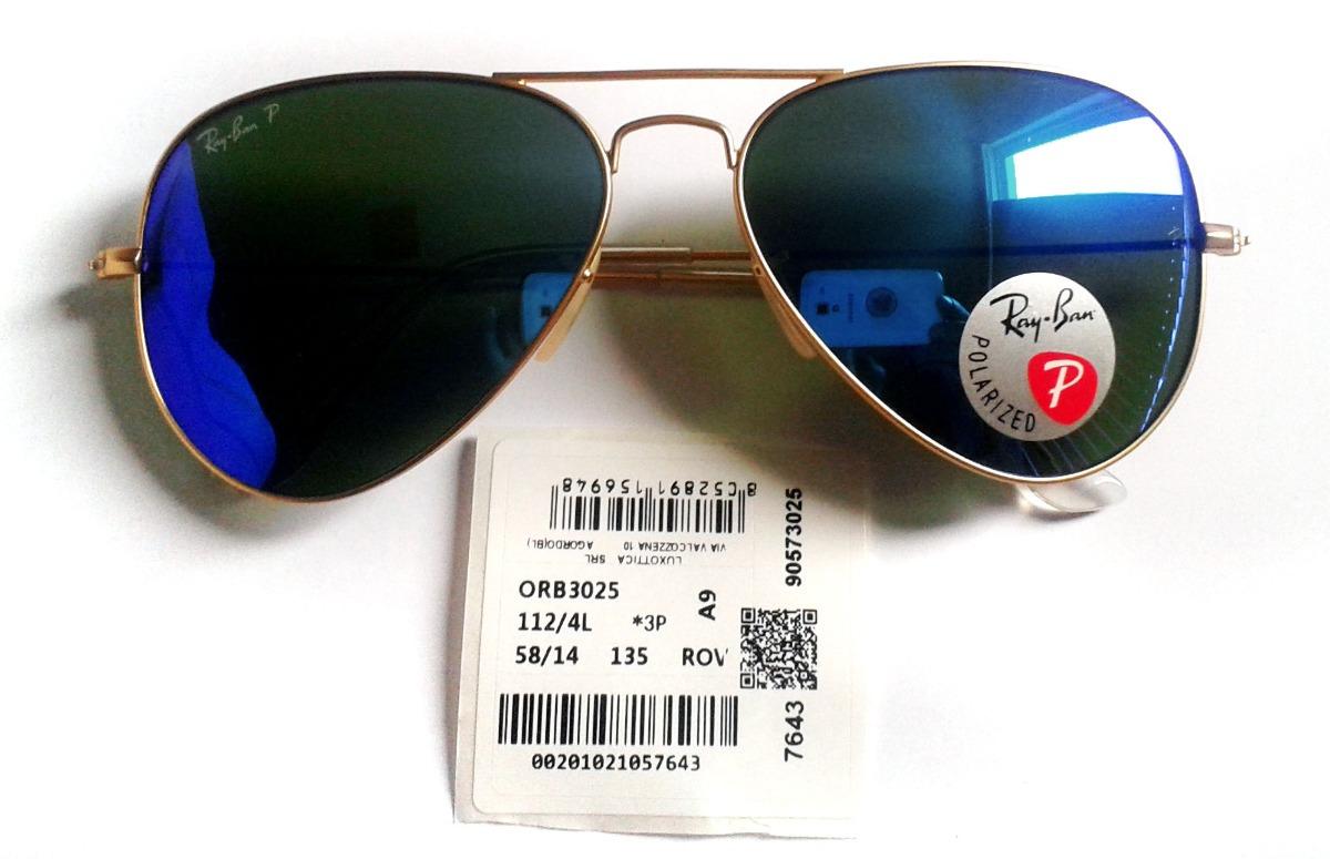 f621672370 lentes polarizados ray ban rb3025 112-4l azul imperdibles! Cargando zoom.