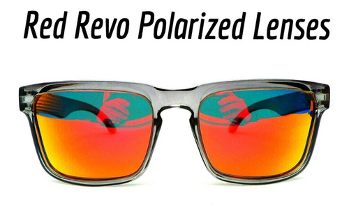 lentes polarizados rebellion red revo wayfarer nº4 optics