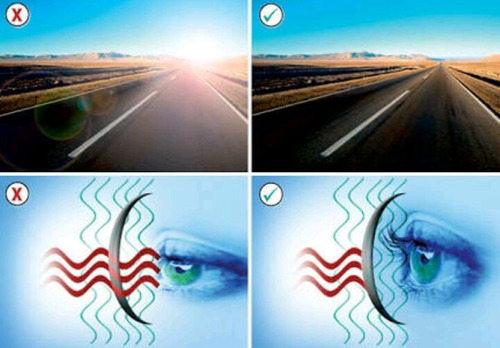 lentes polarizados vista de águila+envío express