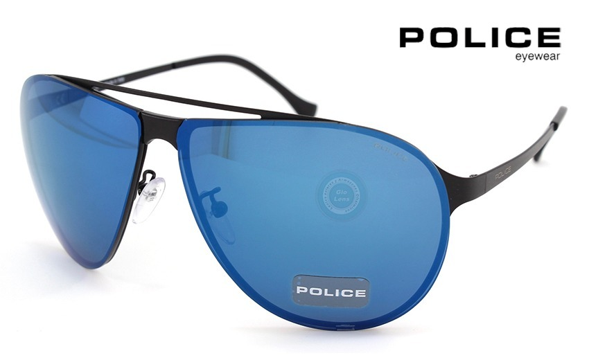 e269e2d191 lentes police reward1 spl166 531b matte black - mirror blue. Cargando zoom.