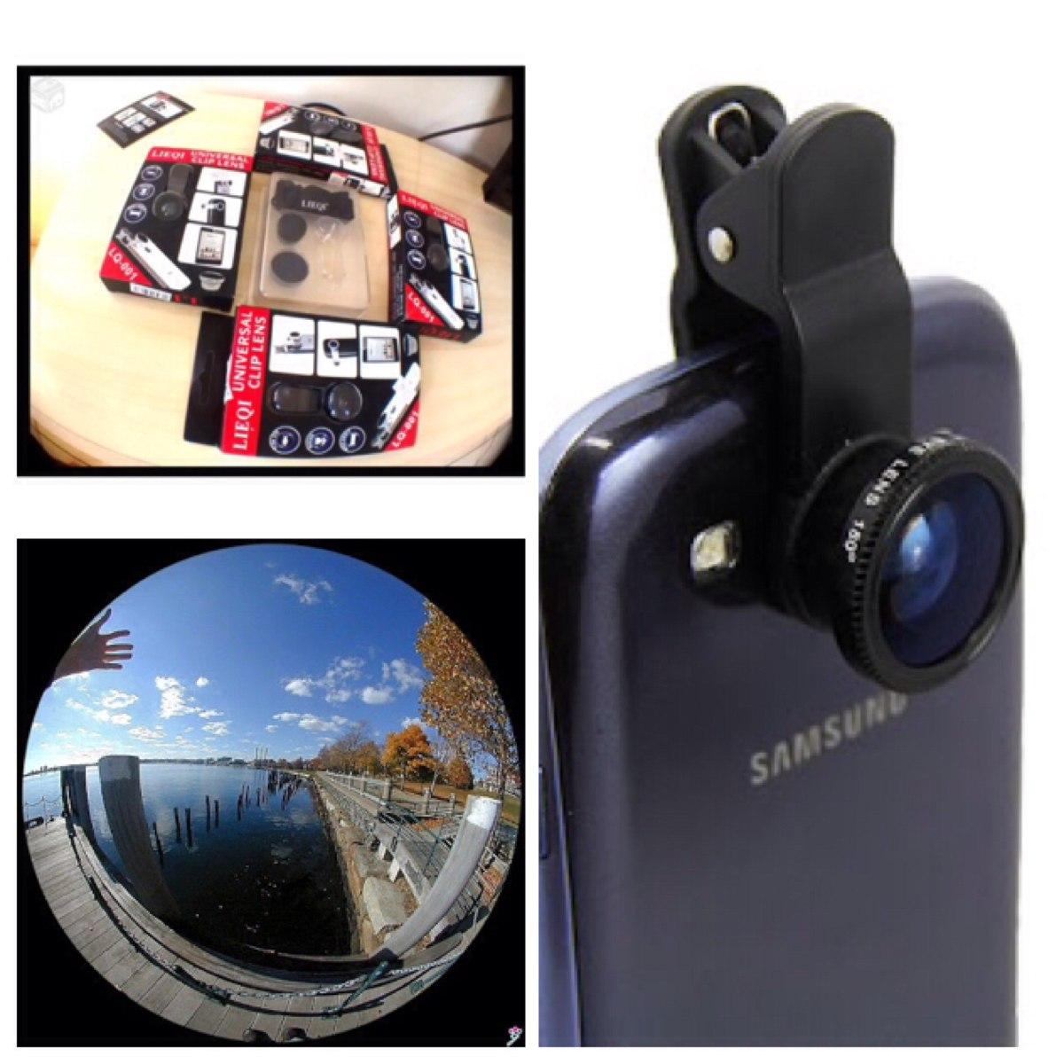 lentes profissionais p  celular 3 efeitos diferentes fisheye. Carregando  zoom. 0828019761