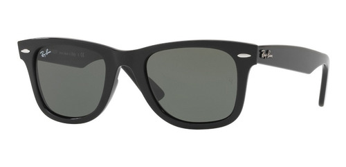 lentes ray-ban 0rb4340 wayfarer ease negro verde