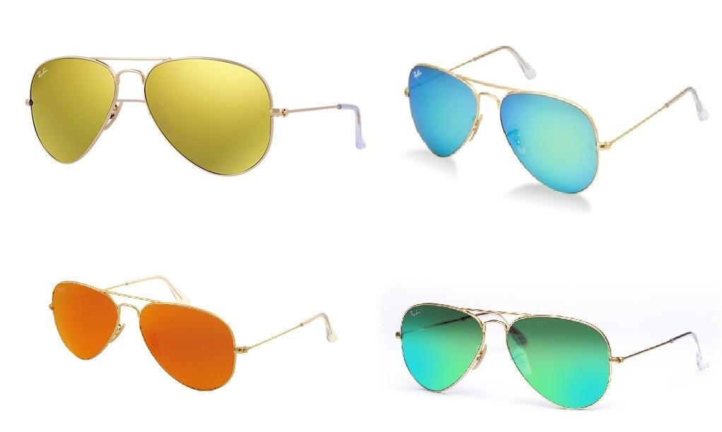 lentes ray ban originales dorados