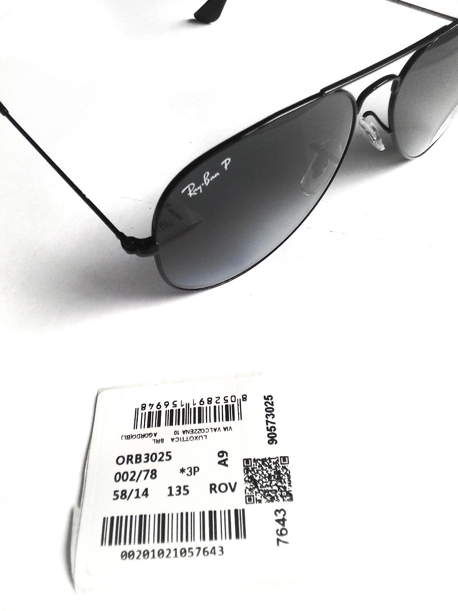Lentes Ray Ban Rb3025 002-78 Aviator Polarizados Increibles ... a2a71412c803