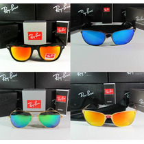 Lentes Ray-ban Wayfarer Folding, Rb Aviador Polarizado 100%g