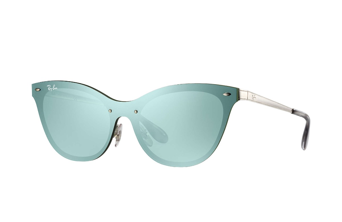 a95e9caca5d3f Lentes Ray Ban Aviador Cat Eye Blaze Original Rb3580 042 30 ...