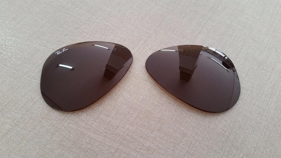 74b2d9aa06cc4 lentes ray-ban aviador degradê rb3025 crystal brown original. Carregando  zoom.