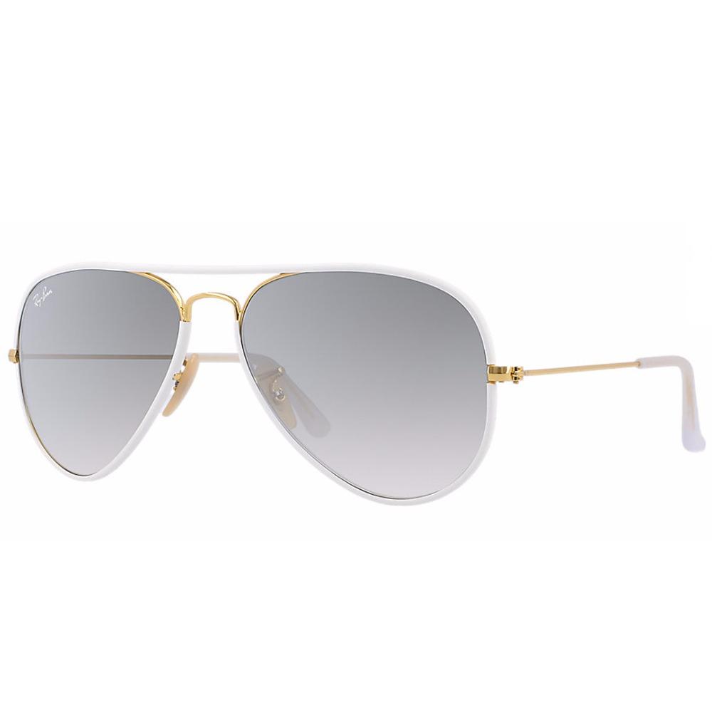 lentes ray ban marco blanco
