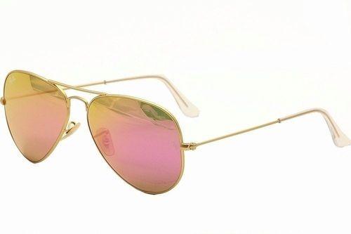 lentes ray ban aviador rosas