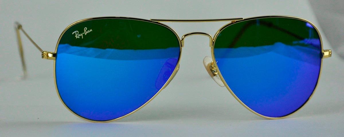 lentes ray ban azules originales