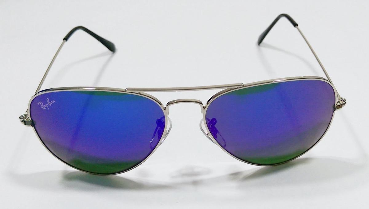 lentes ray ban aviator tornasol