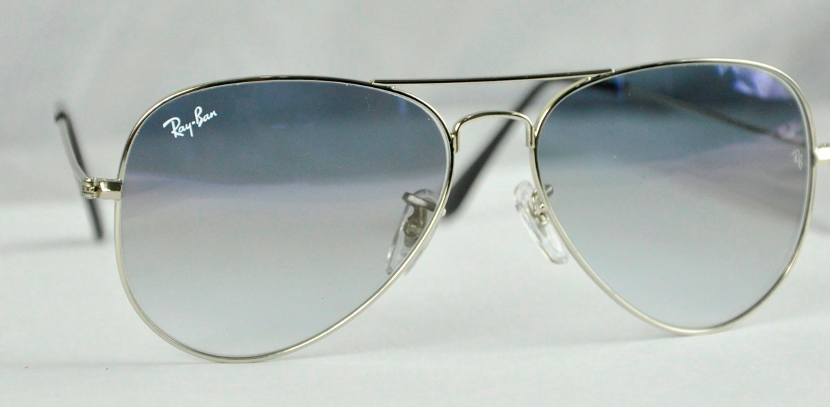 70ea69d4f3 ... uk lentes ray ban aviator 3025 degrade azul 100 originales. cargando  zoom. 56017 bfdaa