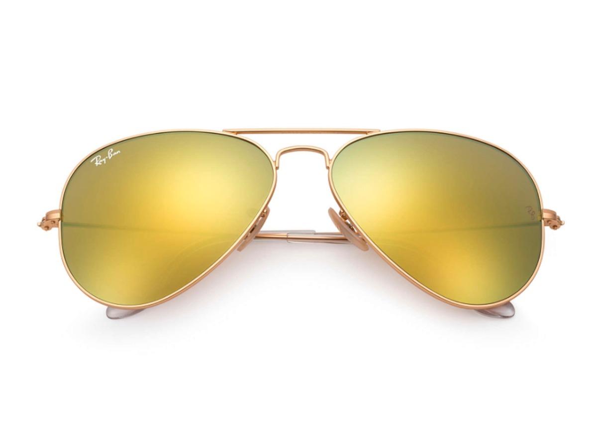 349b872147 Lentes Ray Ban, Aviator, Rb3026 112/93-dorado Gota Grande - $ 889.00 ...