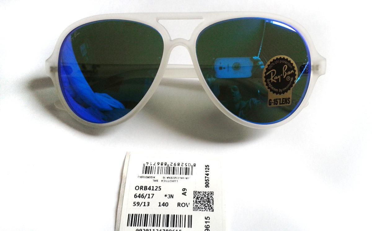 bc932b5a777e8 ... where to buy lentes ray ban azules cats 5000 rb4125 646 17 increibles cargando  zoom.