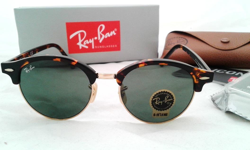 db7ec7a585 lentes ray ban clubround rb4246 9903n clubmaster redondo 51. Cargando zoom.