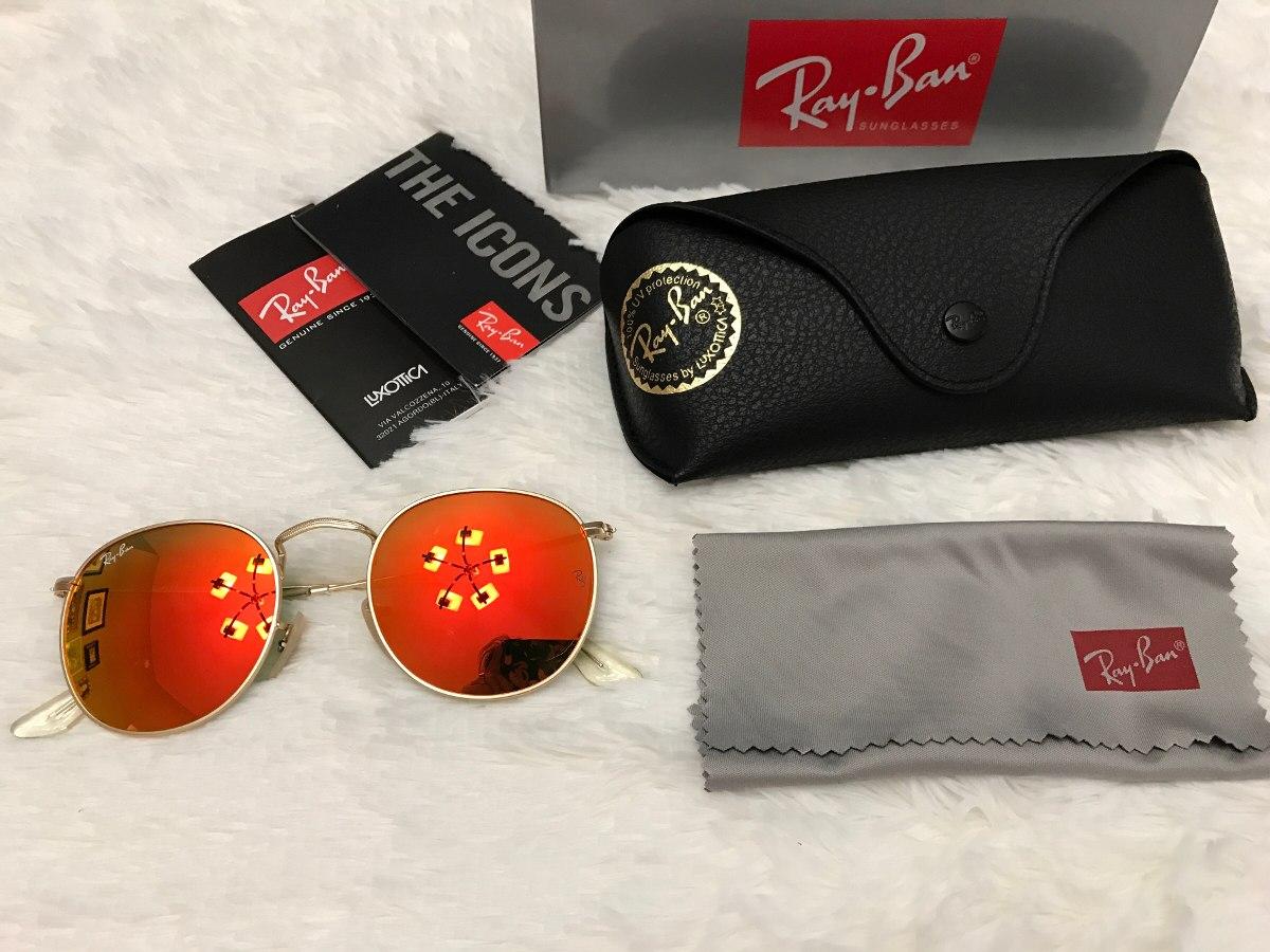 8a585db71b lentes ray-ban color naranja mod rb3447 nuevos envio gratis. Cargando zoom.