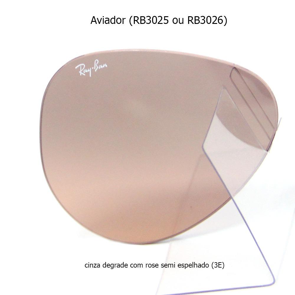 Lentes Ray Ban  Cristal, Espelhada, Polarizada Ou Perfurada - R  189 ... 87bfeea535