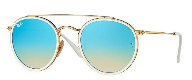 298f944f43 lentes ray ban dorados