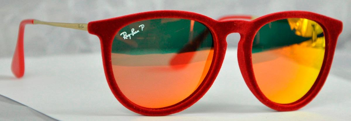 ray ban polarizados rojos