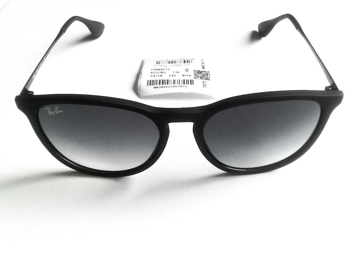 c70ce70a2bdd6 lentes ray ban erika rb4171 622 8g 54 18 ahumados importados. Cargando zoom.