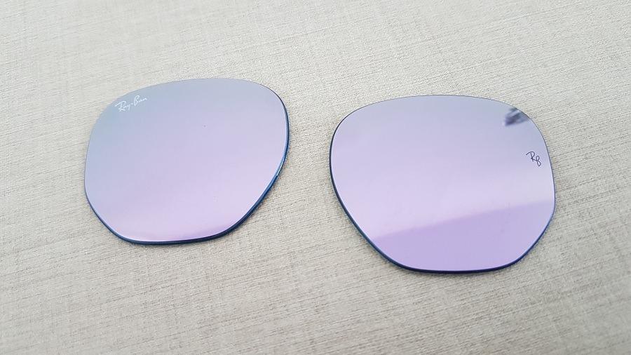 a90a32da6 lentes ray-ban hexagonal rb3548 violeta tamanho 51original. Carregando zoom.