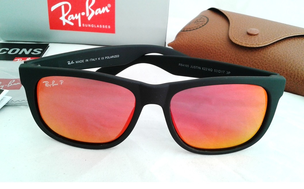 32eba4ef99469 ... norway lentes ray ban justin rb 4165 622 6q polarizados mate 53mm.  cargando zoom. ...