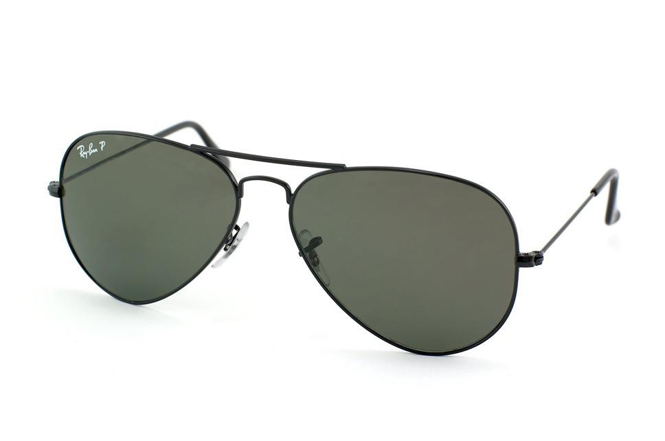 lentes ray ban tipo aviator verdes