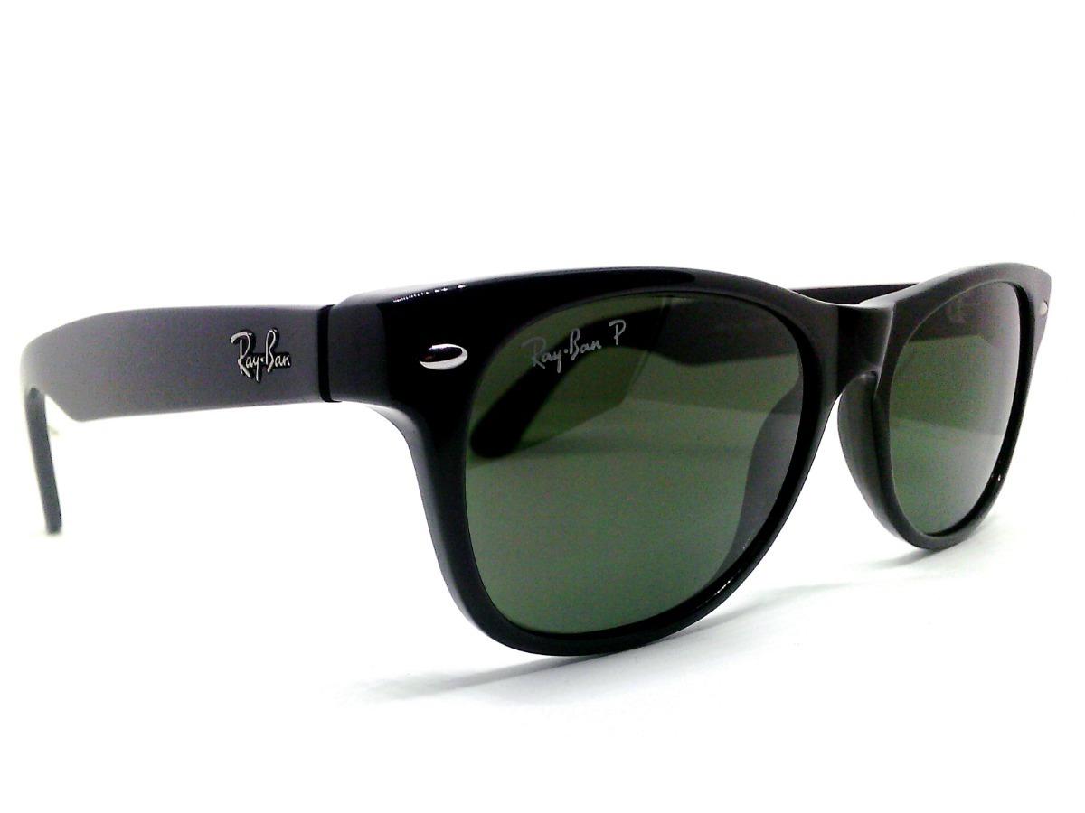 8a708cd8c lentes ray ban new wayfarer rb2132 polarizados verde clásico. Cargando zoom.