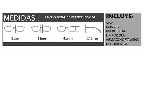 44f9a6543a Lentes Ray Ban Oftalmicos Redondo Armazon Rb6365 Medida 51mm ...